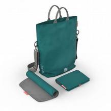 Купить сумка для мамы greentom diaper bag, цвет: бирюзовый ( id 10599359 )