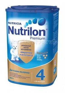 Купить nutrilon детское молочко premium 4 с 18 мес. 800 г 606867