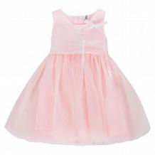 Купить платье santa&barbara, цвет: белый/розовый ( id 11046494 )
