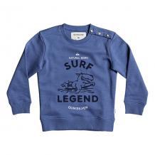 Купить толстовка классическая детская quiksilver edfinhandsby bright cobalt синий