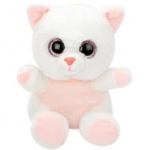 """Купить мягкая игрушка fluffy family """"крошка котенок"""", 15 см, белая ( id 12969782 )"""