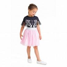 Купить юбка crockid зебры, цвет: розовый ( id 12642832 )