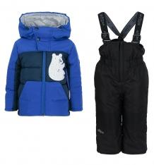Купить комплект куртка/брюки boom by orby, цвет: синий 70487_bob вар.2