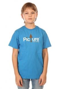 Футболка детская Picture Organic Sherwood Blue синий ( ID 1132445 )