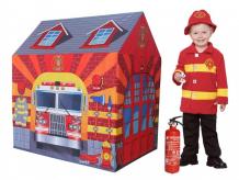 Купить джамбо домик-палатка пожарная станция 95х72х102 см jb1300061