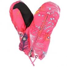 Купить варежки сноубордические детские roxy snows up mitt peterpan paradise розовый ( id 1165774 )