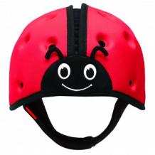 """Купить мягкая шапка-шлем для защиты головы safeheadbaby """"божья коровка"""", цвет: красный safeheadbaby 996939838"""