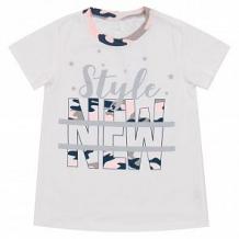 Купить футболка leader kids камуфляж, цвет: белый ( id 11270360 )