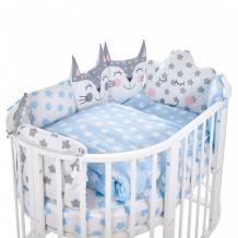 Купить комплект в кроватку sweet baby овальную gioia (5 предметов) 42328