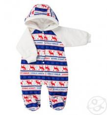 Купить комбинезон lucky child, цвет: белый/красный ( id 3823603 )