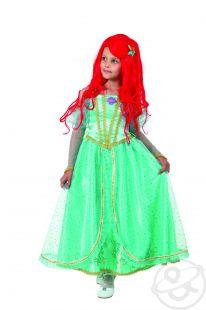 Купить карнавальный костюм батик принцесса ариель платье/брошь, цвет: бирюзовый ( id 11702380 )