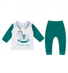 Купить комплект джемпер/брюки kidaxi, цвет: зеленый ( id 9915072 )