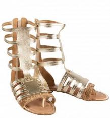 Босоножки Bibi shoes, цвет: золотой ( ID 2744948 )