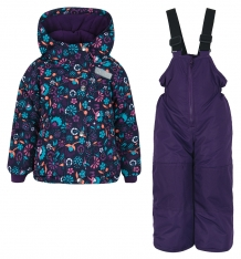 Купить комплект куртка/полукомбинезон salve by gusti, цвет: голубой/розовый ( id 9820215 )