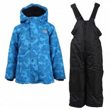 Купить комплект куртка/полукомбинезон salve, цвет: синий/черный ( id 10675616 )