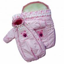 Купить комплект комбинезон/конверт даримир baby, цвет: розовый ( id 3815038 )