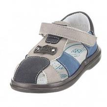 Купить сандалии топ-топ, цвет: голубой/серый ( id 11862358 )
