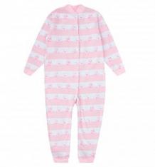 Купить комбинезон чудесные одежки розовые мишки, цвет: белый/розовый ( id 10075986 )