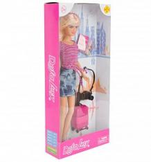 Купить кукла defa с чемоданом (джинсовая юбка) 26 см ( id 9870363 )