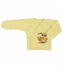 Купить распашонка три медведя, цвет: желтый ( id 5062261 )