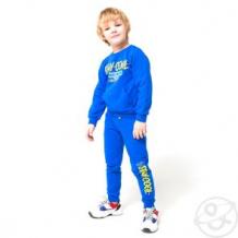 Купить спортивные брюки crockid стрит арт, цвет: синий ( id 12757456 )