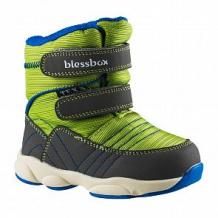 Купить сапоги blessbox, цвет: зеленый ( id 11984122 )