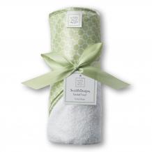 Купить полотенце для новорожденного swaddledesigns hooded towelwh mini mod swaddledesigns 997011380