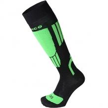 Носки высокие детские Mico Ski Socks In Merino Wool Verde Fluo светло-зеленый,черный ( ID 1196815 )