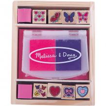 """Купить набор печатей """"бабочки и сердечки"""", melissa & doug ( id 2401064 )"""
