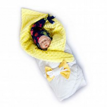 Купить комплект на выписку мурзик slingme, цвет: синий комбинезон/одеяло/шапка/снуд/бант 90 х 90 см ( id 12797488 )