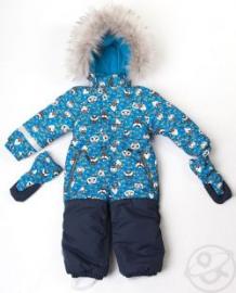 Комбинезон Batik Панда, цвет: синий ( ID 9831660 )