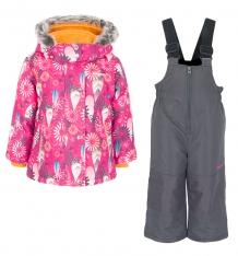 Купить комплект куртка/полукомбинезон zingaro by gusti, цвет: розовый ( id 9911451 )