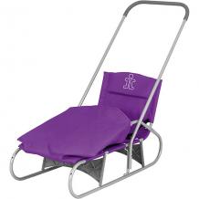 Купить складные санки дэми, серо-фиолетовые ( id 12627284 )