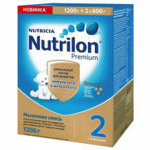 Купить nutrilon молочная смесь premium 2, 6-12 мес. 1200 г 125173