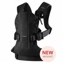 Купить рюкзак-переноска babybjorn one soft cotton black, черный babybjorn 996965905
