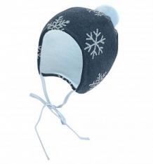 Купить шапка krochetta, цвет: синий ( id 9804099 )