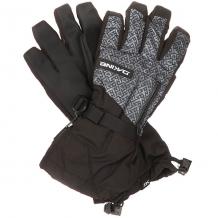 Купить перчатки сноубордические dakine titan glove stacked черный,серый 1196342