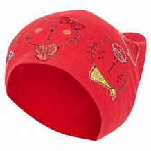 Купить шапка levelpro kids три кота, цвет: красный ( id 10458560 )