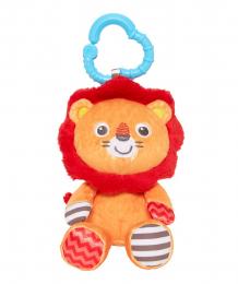 """Купить игрушка-погремушка """"сафари"""" лев подвесная, цвет: многоцветный mothercare 9454901"""