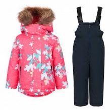 Купить комплект куртка/полукомбинезон fun time, цвет: фуксия/синий ( id 10886897 )