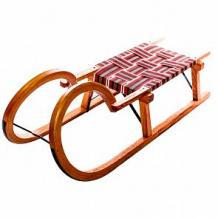 Купить санки sport rodel деревянные, цвет: коричневый ( id 12113710 )
