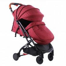 Купить прогулочная коляска tommy style, цвет: maroon ( id 12574246 )