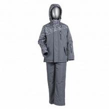 Купить комплект куртка/брюки ursindo, цвет: серый ( id 12254572 )