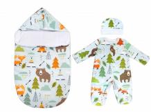 Купить комплект на выписку forest friends (3 предмета)