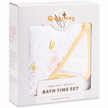 Купить набор qwhimsy полотенце с капюшоном + полотенце для лица красная книга ( id 12573658 )
