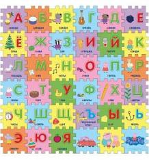 Коврик-пазл Peppa Pig Учим азбуку с Пеппой (36 дет.) 90 х 90 см ( ID 2718716 )