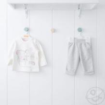 Купить комплект джемпер/брюки kidaxi, цвет: розовый ( id 10599866 )