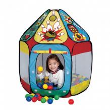 Купить calida игровая палатка с шарами спорт 678