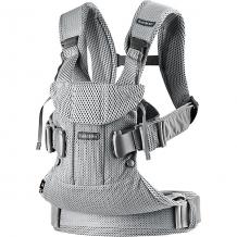 Купить рюкзак-кенгуру babybjorn one mesh серебряный 7763097