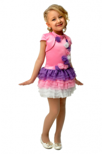 Купить комплект: платье, болеро ladetto 1н7-1